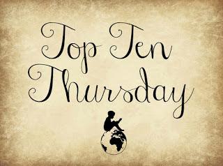 Top Ten Thursday - eine Aktion von Aleshanee des Blogs Weltenwanderer