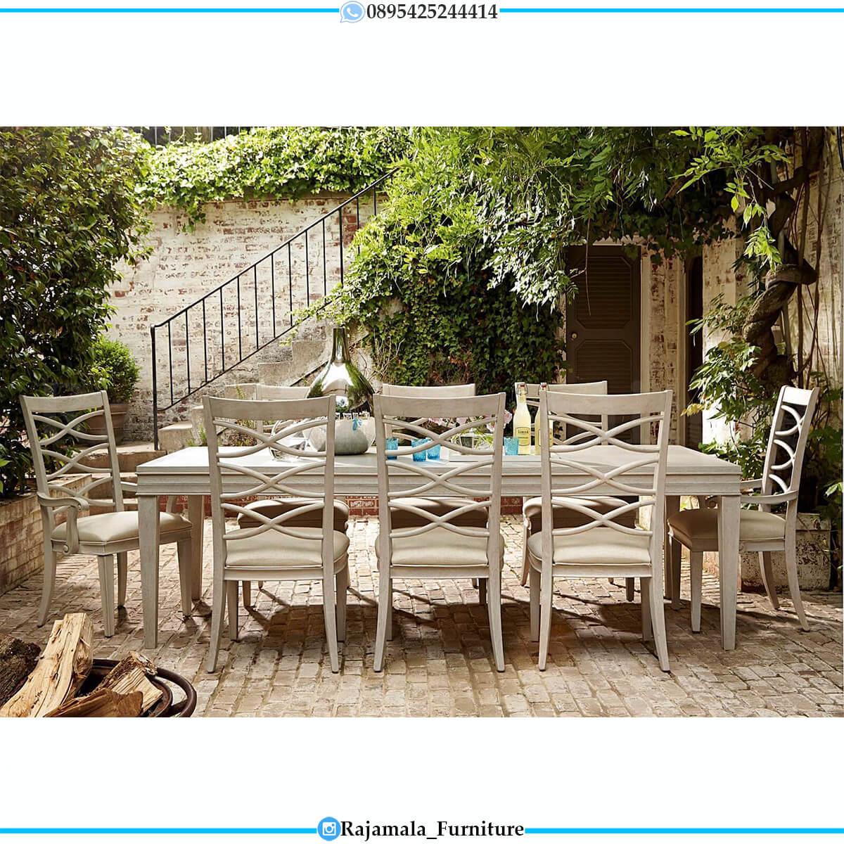 Meja Makan Minimalis Outdoor Design Simple Elegant RM-0724
