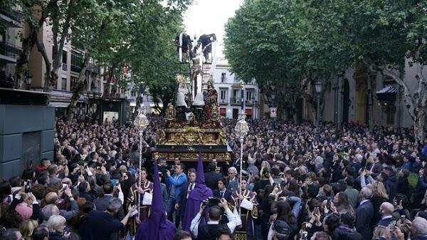 La Quinta Angustia de Sevilla saldrá con una banda de música el próximo Jueves Santo