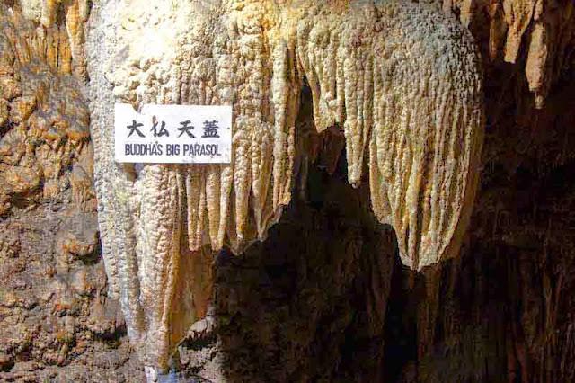 Buddha's Big Parasol, cave