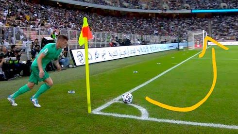 Toni Kroos Kornerden Attığı Gol