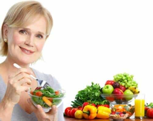 Changes in eating habits in your 50s