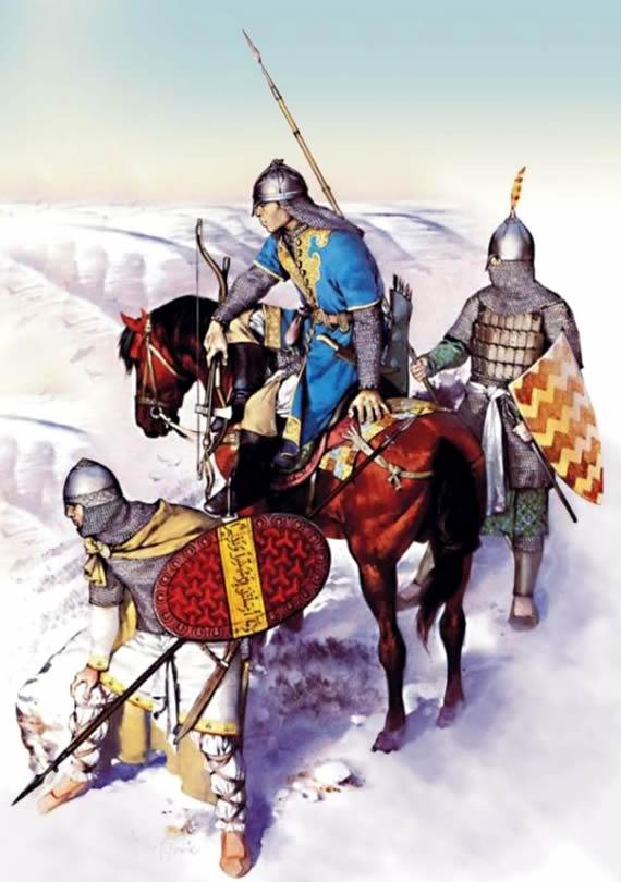 Seljuk soldiers