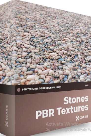 Textures - CGAxis - PBR Textures Volume 1 - Stones [PNG]