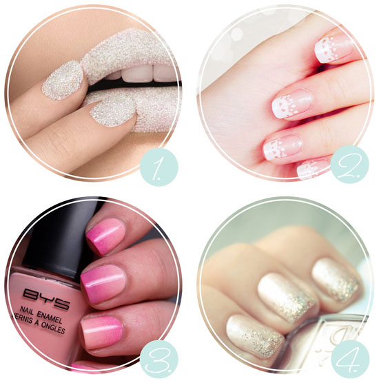 Do It Yourself Nail Designs: 'i Do' It Yourself: Diy Wedding Nail Art