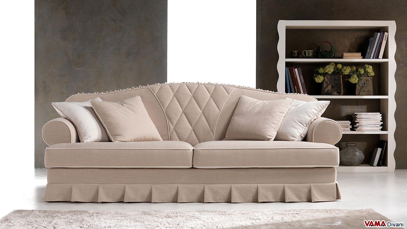 Vama divani blog raffinato divano classico in tessuto saturnia - Divano classico in pelle ...