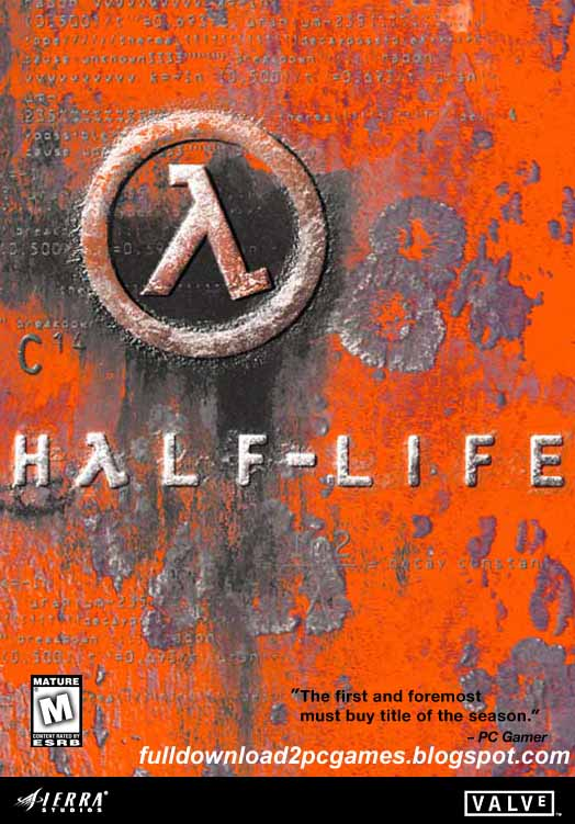 Person Shooter Video Game Developed By Valve And Published By Sierra Studios Half-Life 1 Free Download PC Game