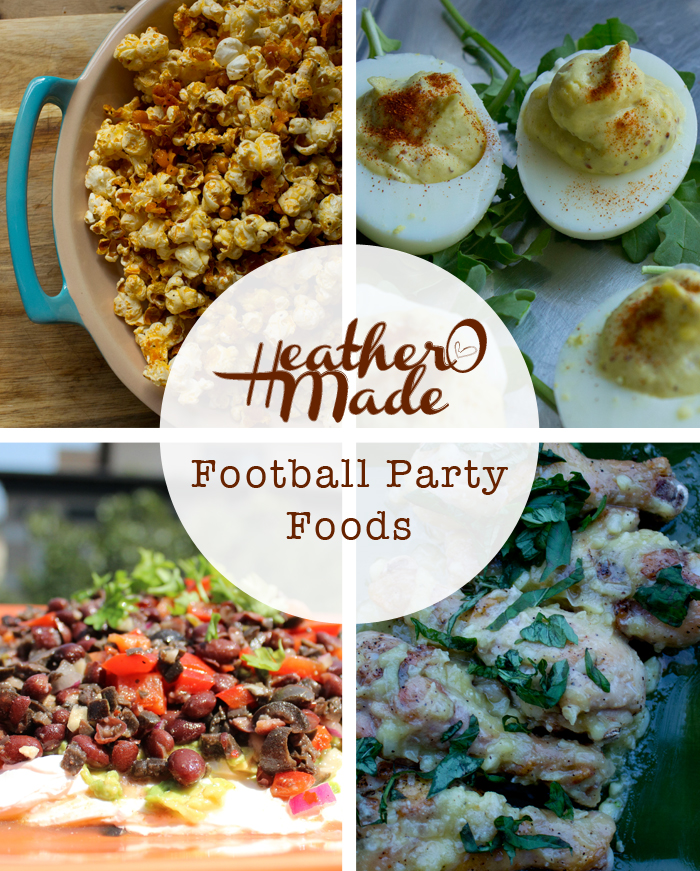 football party foods. super bowl. recipes.