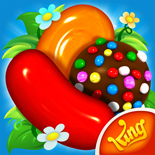 Candy Crush Saga (MOD, Moves/Lives/All Level)