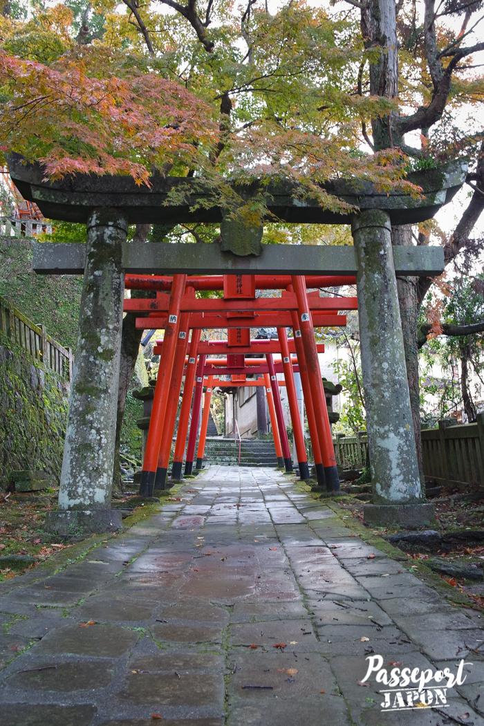 Torri, Sanctuaire Wakamiya Inari, Teramachi, Nagasaki