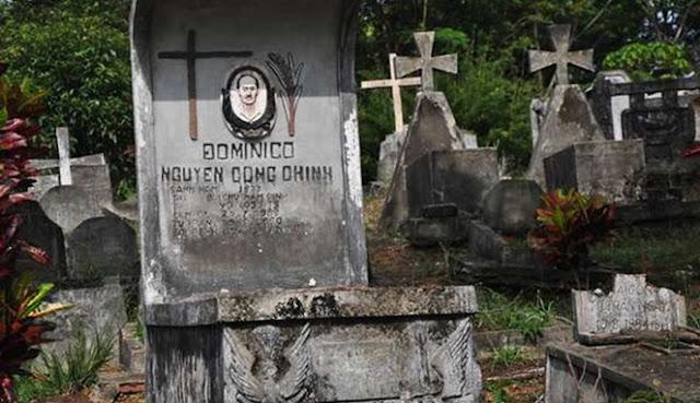 kuburan di pulau galang