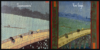 Puente bajo la lluvia, Millet, Van Gogh