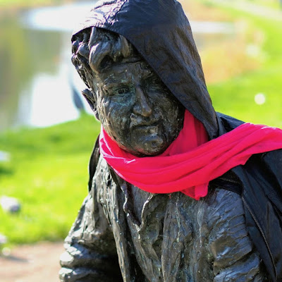 Best free things to do in Dublin: Brendan Behan on the Royal Canal