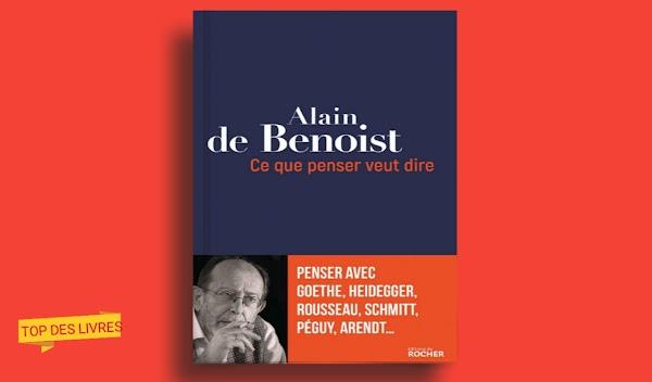 Télécharger : Ce que penser veut dire - Penser avec Goethe, Heidegger, Rousseau, Schmitt, Péguy, Arendt en pdf