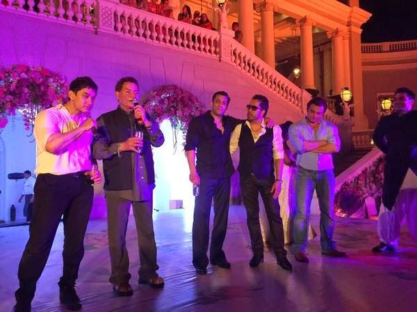 Celebration after sister of Salman Khan got married