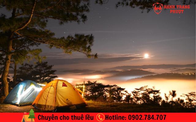 Chuyên cho thuê lều cắm trại HCM