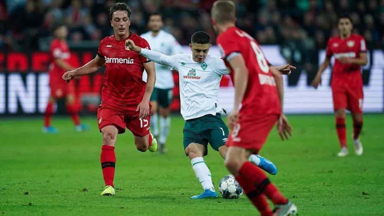 باير ليفركوزن يزيد أوجاع فيردر بريمن برباعية في الدوري الألماني