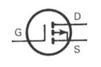 Transistor Symbol - MOSFET P Channe Enhancement