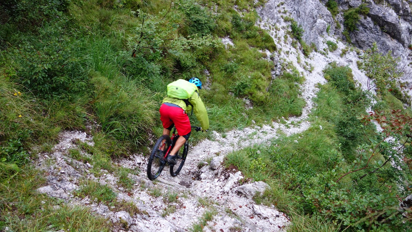 downhill Mountainbike Tour: Val Resia Bovec (Slowenien)