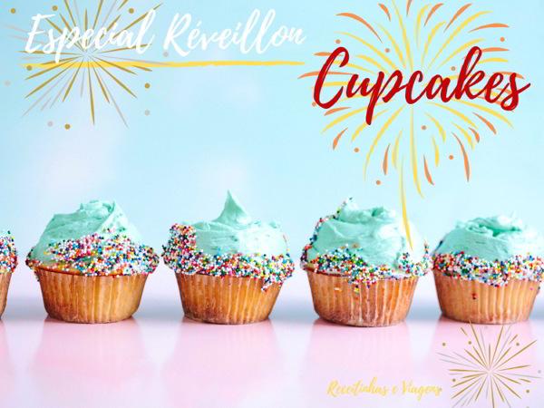 cupcake de ano novo