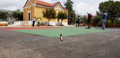 ΔΗΜΙΟΥΡΓΙΑ γηπέδων μπάσκετ και άλλων χώρων άθλησης