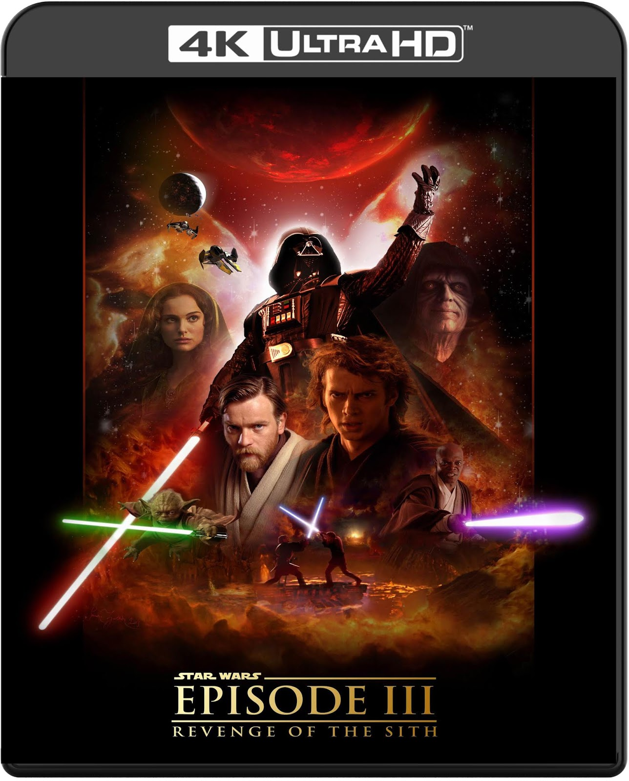 Star Wars: Episode III Revenge of the Sith [2005] [UHD] [2160p] [Latino]
