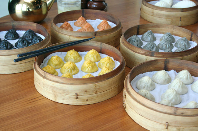 Paradise Dynasty at S Maison Conrad's Colorful Xiao Long Bao