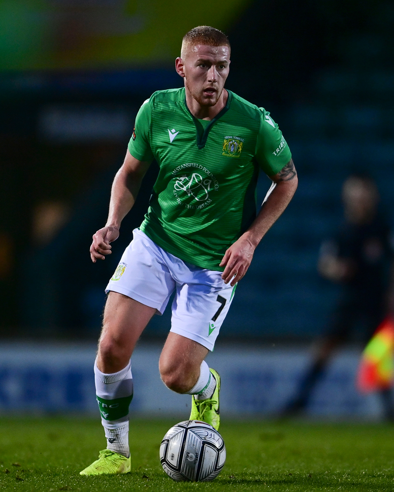 Football player for Yeovil Town Football Clubs