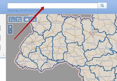 знайти земельну ділянку за кадастровим номером