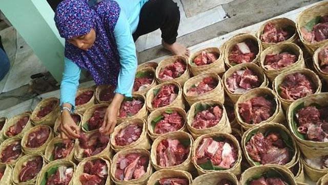 PBNU Imbau Penyelenggara Qurban Tidak Pakai Plastik untuk Distribusi Daging