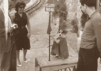Camino del Santuario de Montserrat en 1960
