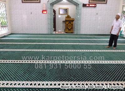 Toko Karpet Masjid Kelapa Gading, Corak Karpet Masjid, Karpet Masjid Tebal