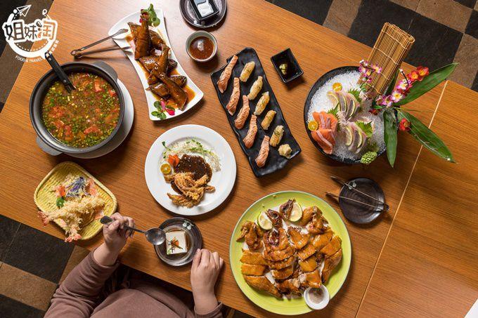觀音山腳下的隱藏日式料理,超美日式庭園風建築,日本空運鮮食鮮度百分百-真手作日式料理