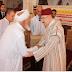 """تنغير: مؤسسة محمد السادس للنهوض بالأعمال  الاجتماعية للقيمين الدينيين توزع الاعانات الغدائية لرمضان"""" 1437 """""""