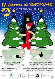 Carrera Navidad Astorga 2016