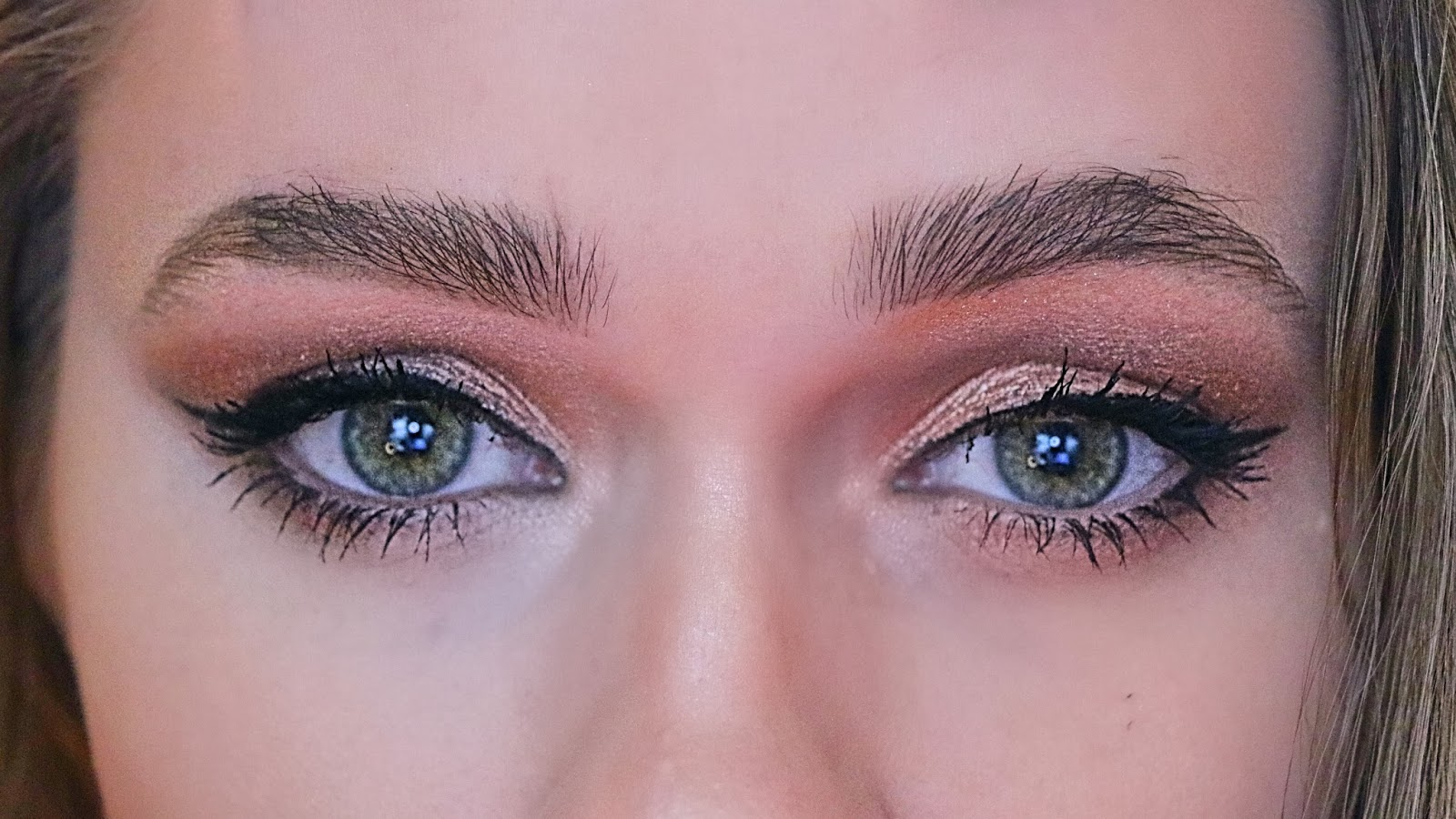 Easy Copper Smokey Eye Makeup Tutorial Brittany Comeaux