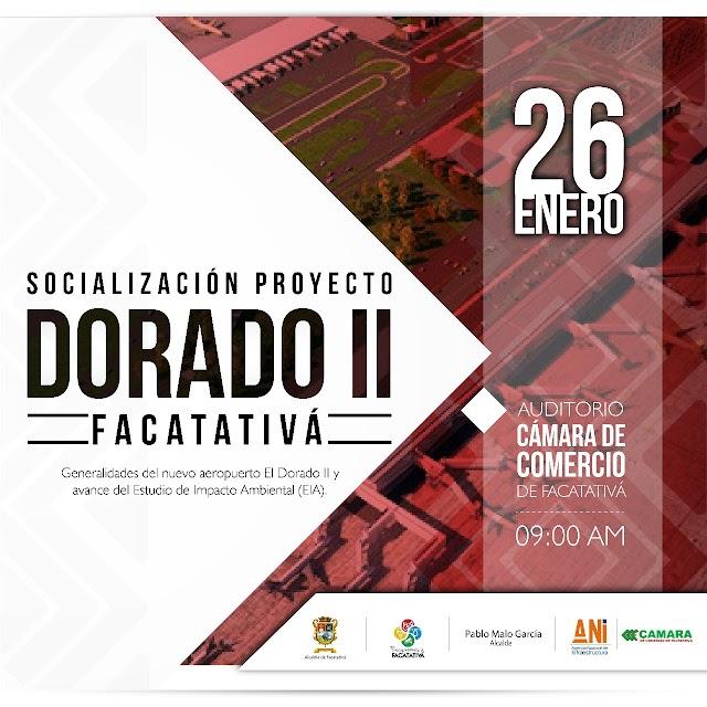 La ANI socializará en Facatativá el Proyecto del Aeropuerto El Dorado II