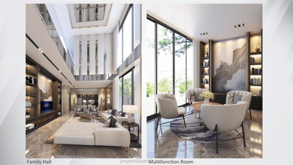 Interior Design Rumah The Zora BSD