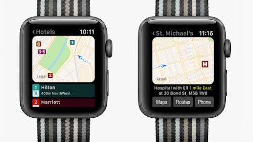 Apple Watch GPS Maps