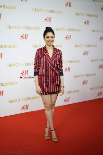 Tamannah Bhatia Exclusive in Red Blazer and Red Shorts Spicy Pics ~  Exclusive 005.JPG