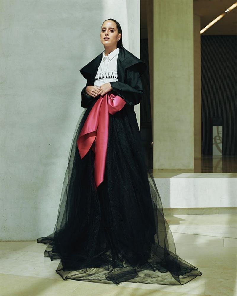 Taleedah Tamer model cantik dan manis dari Arab Saudi