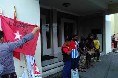 Anggota KNPB Manado Ditangkap dan  Diamankan ke Mapolresta Manado
