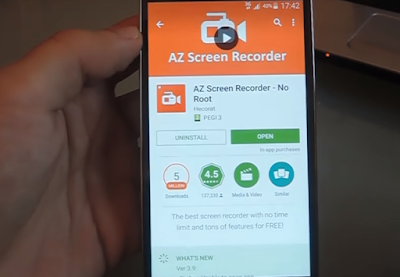Begini Cara Rekam Layar Smartphone Tanpa Root Di Semua Android