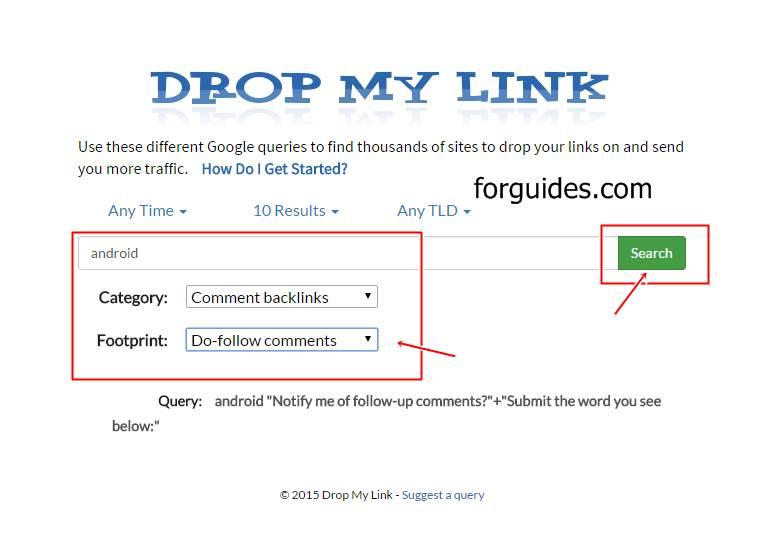 Cara Mencari backlink Blog Dofollow