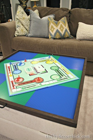 large DIY puzzle or game tray