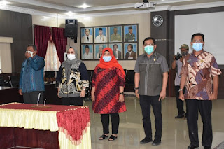 Wali Kota Sibolga Berhentikan 5 Pejabat Pimpinan Pratama Dari Jabatannya