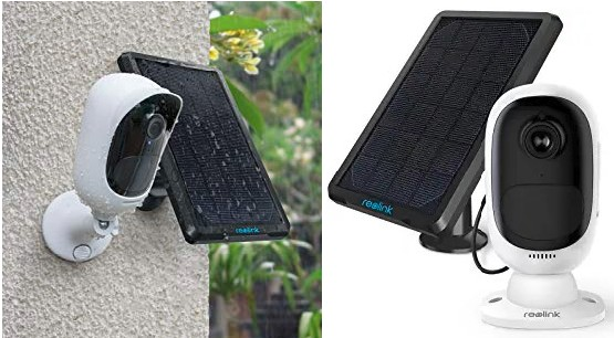 Reolink Solar Camera: Smart Outdoor Security Video Cam with 2Way Audio - Supports Alexa/Google Voice Assistant