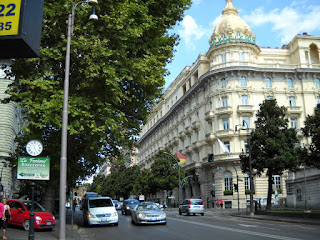 Photo of the Westin Excelsior Hotel on the Via Veneto in Rome