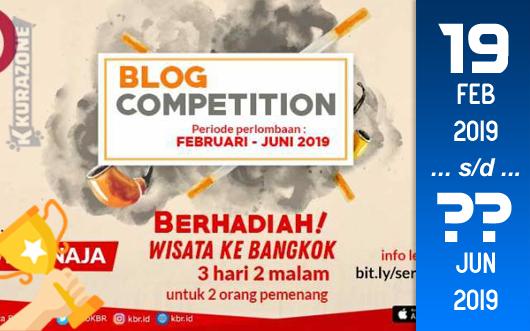 Kompetisi Blog - KBR.ID Berhadiah Liburan Wisata ke Bangkok 3 Hari 2 Malam (Juni 2019)