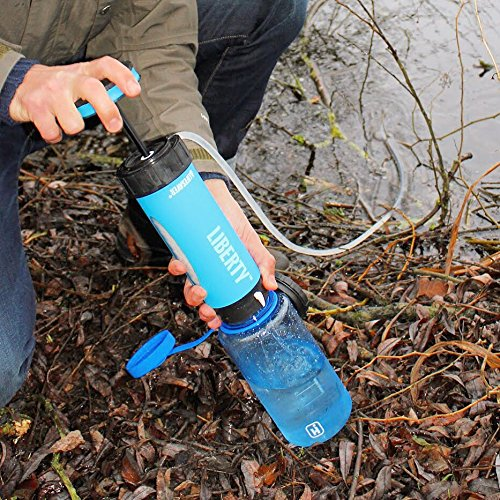 515d0031c8 The Liberty is unique amongst other water filters in that it is both a  dedicated filter pump, and also a portable water bottle. This means you can  use it, ...
